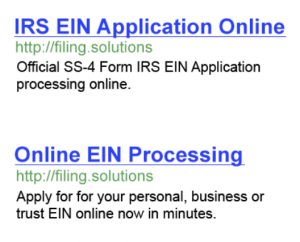 irs ein application problems